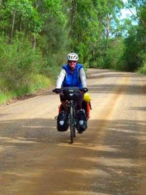 Bomba Road - Myall Lakes, NSW - cycling Across Australia