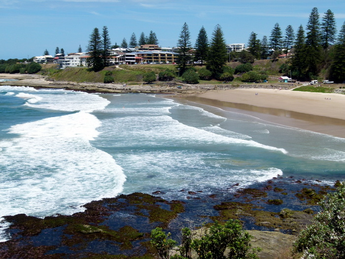 Beach Yamba - NSW - Cycling Across Australia