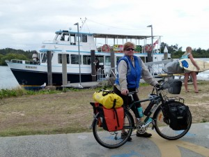 Yamba - Iluka Ferry - NSW - Cycling Across Australia