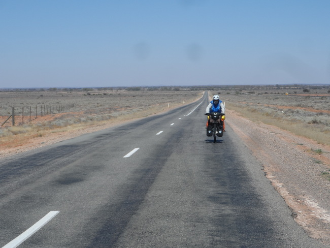 Adelaide  to Broken Hill Road - Cycling Across Australia