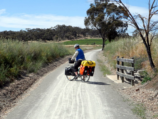 The Reisling Trail, Clare Valley, South Australia - Cycling Across Australia