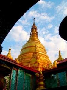 Myanmar photos - Golden Pagodas - Mandalay - Myanmar