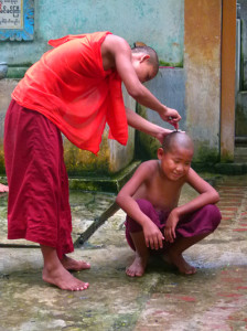 Myanmar photos - Becoming a monk - Myanmar