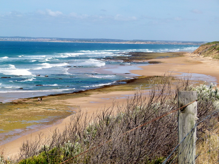 Stunning Coastal Scenery on the Great Ocean Road - Cycling Across Australia