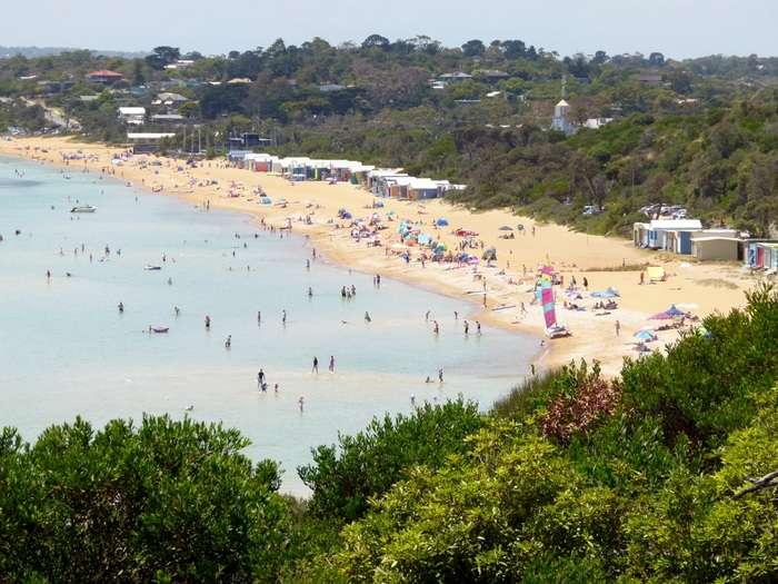 Great Beaches on the Mornington Peninsular, Victoria- Cycling Across Australia