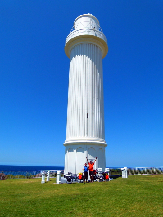 6000 km mark at the Lighthouse, Flagstaff Hill, NSW
