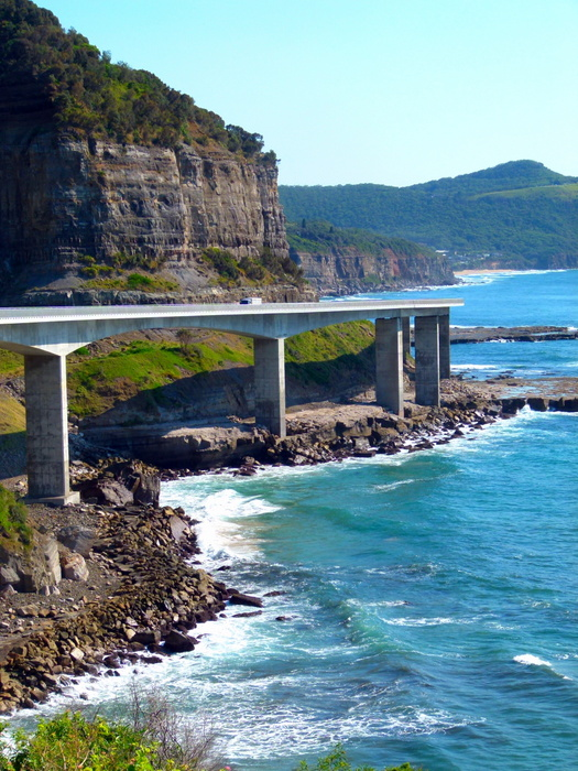 The Sky Bridge, NSW - Cycling Across Australia