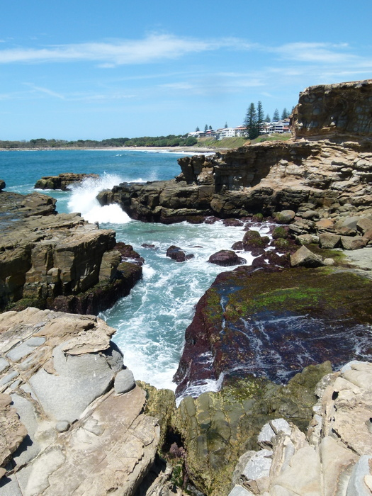 Coastline at Yamba, NSW - Cycling Across Australia