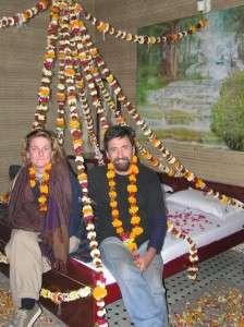 Wedding anniversary in Agra