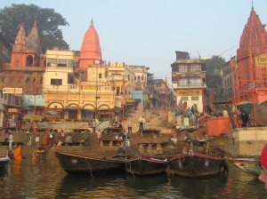 Varanasi - on the Ganges