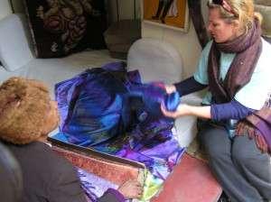 Silk souvenirs