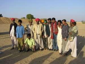 Camel drivers in Rajastan