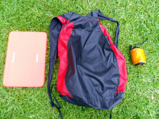 Top ten travel items - daypack