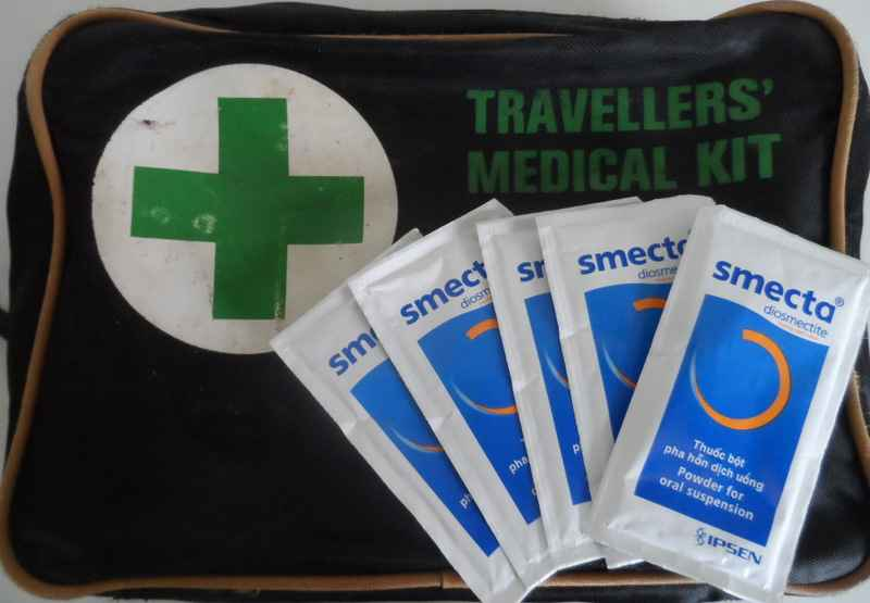 Top ten travel items - SMECTA