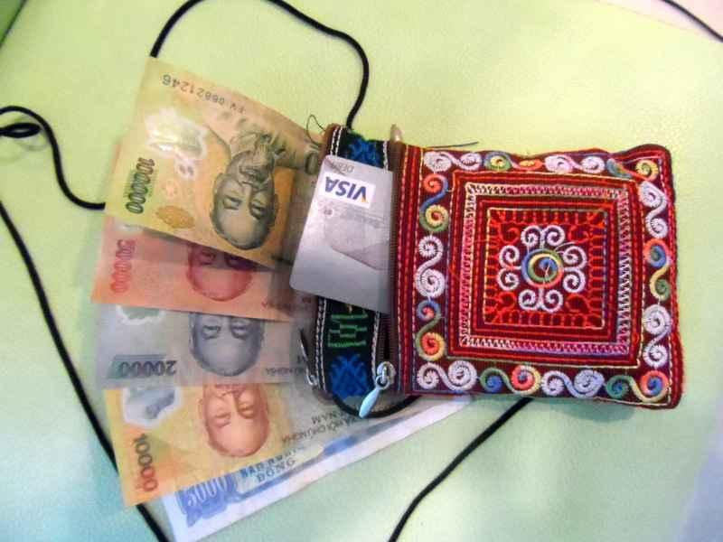 Top ten travel items - neck pouch