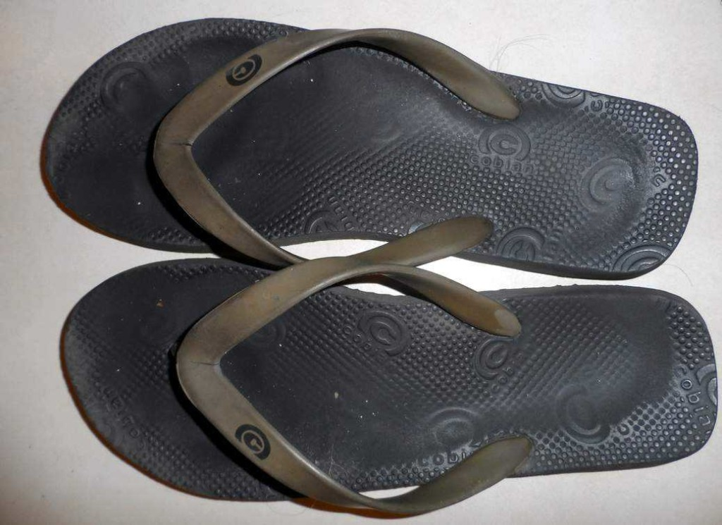 Top ten travel items - Flip flops