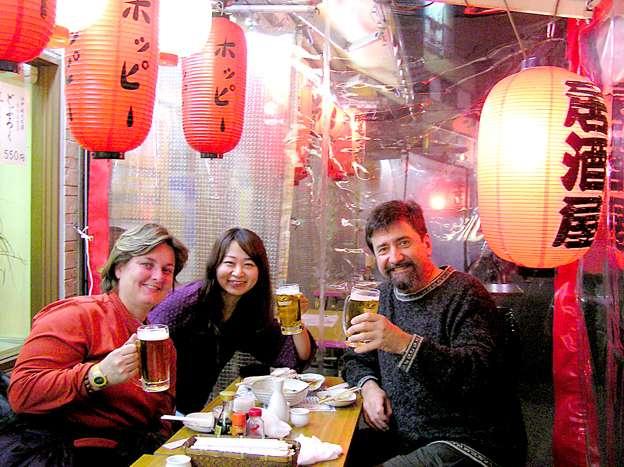 go with the flow - Tokyo beers