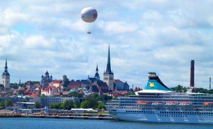 Tallinn Estonia - Tallinn Harbour