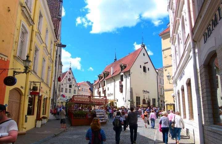Tallinn Estonia - Architecture Old Town