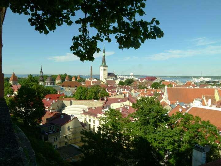 Tallinn Estonia - Viewpoint Tallinn Old Town