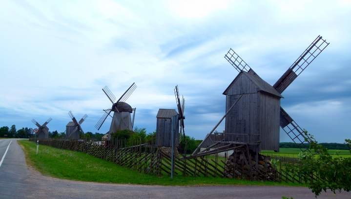 Cycling in Estonia - Saaremaa