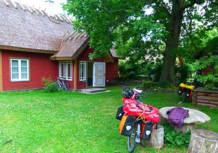 Cycling in Estonia - Ruhnu