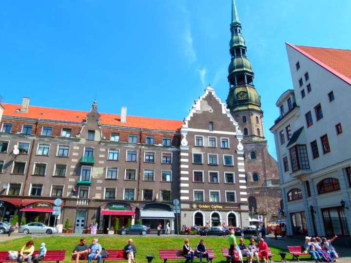 St Peters Riga