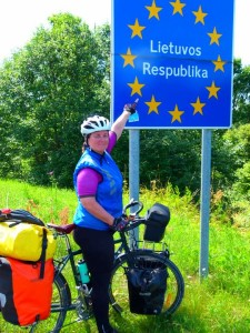Latvian - Lithuanina Border