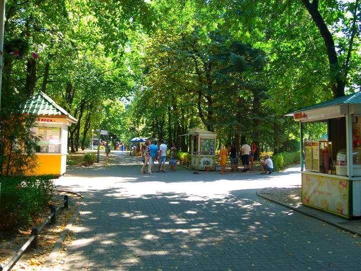Lots of green space in Minsk