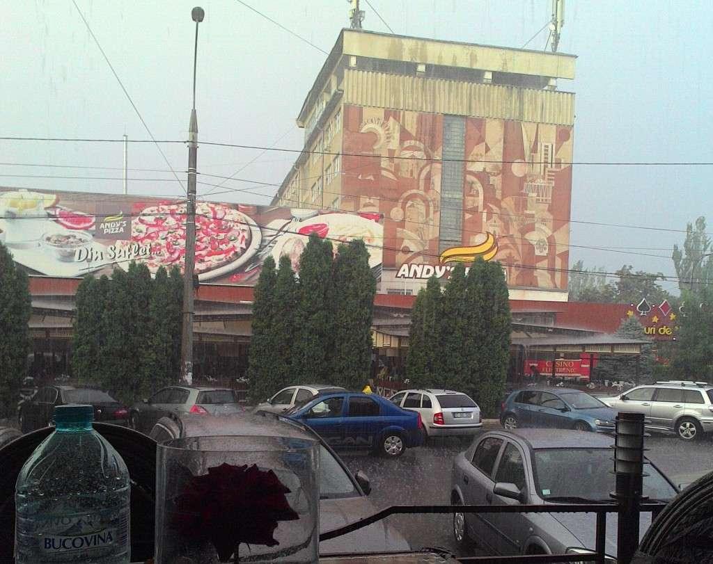 Pouring Rain - Chisinau, Moldova