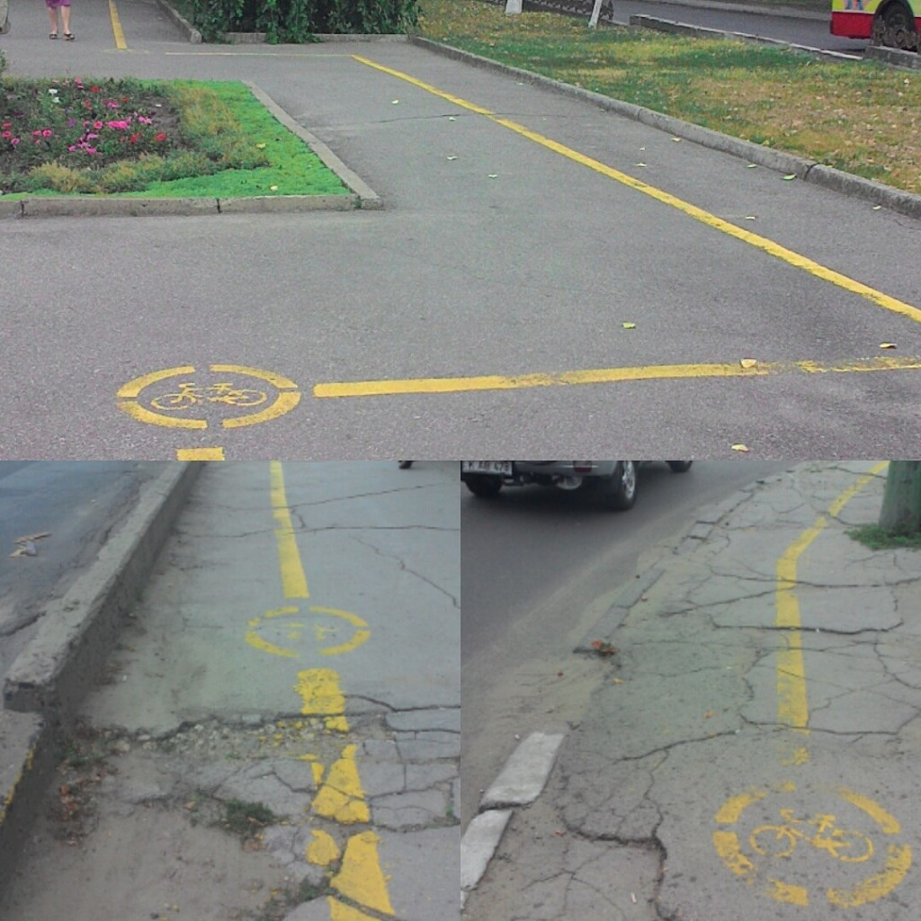 Bike paths in Chisinau