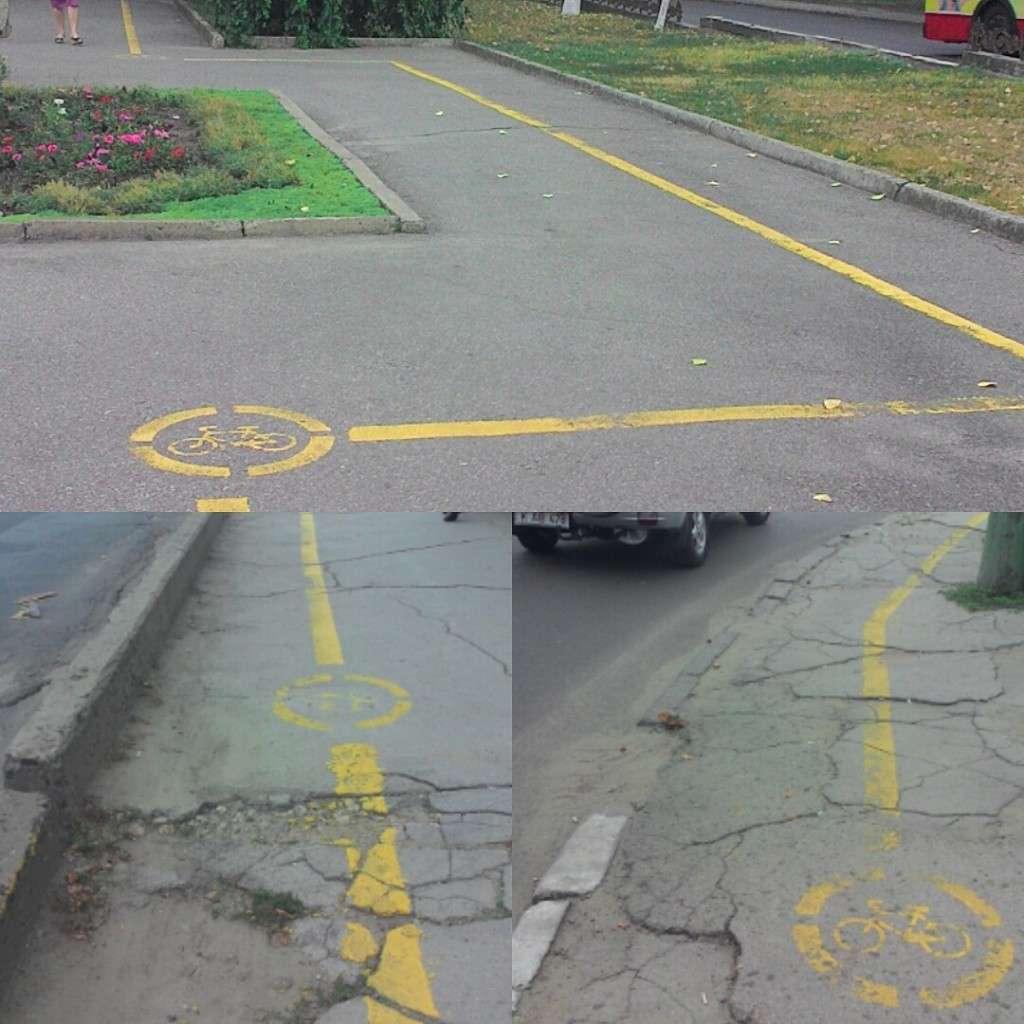 Bike paths in Chisinau