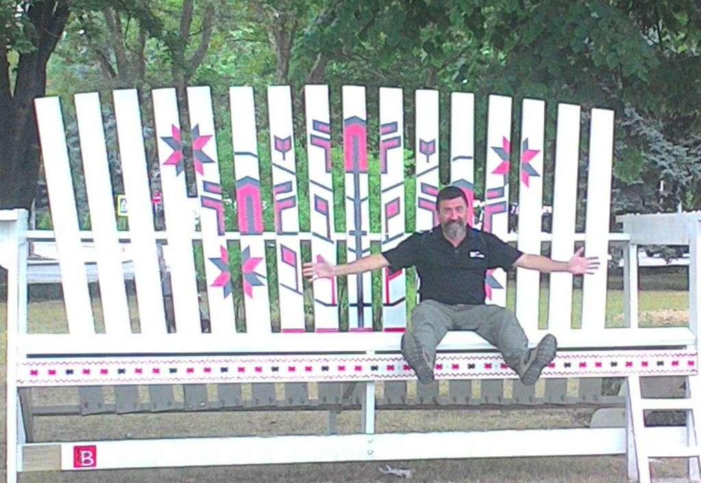 The BIG chair - Chisinau, Moldova