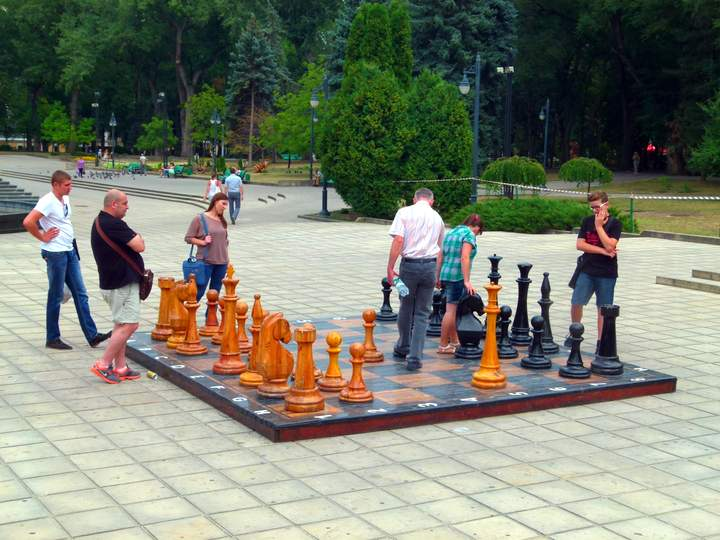 Park in Chisinau