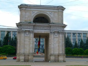 The Triumphal Arch - Chisinau, Moldova
