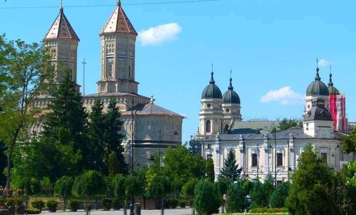 Central Iasi, Romania