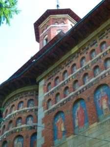 Church detail, Iasi, Romania