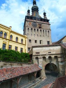 Tower, Sighisoara, Transylvania, Romania