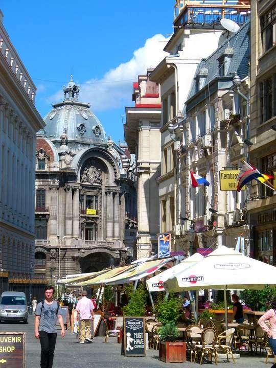 Old Town Bucharest
