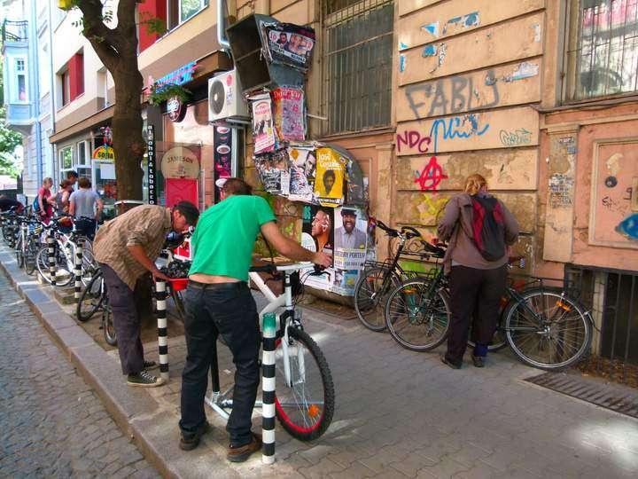 Bikeshop Sofia Bulgaria