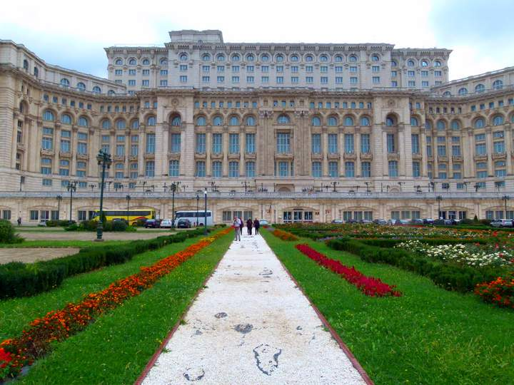 The Palace of the Parliament - Bucharest