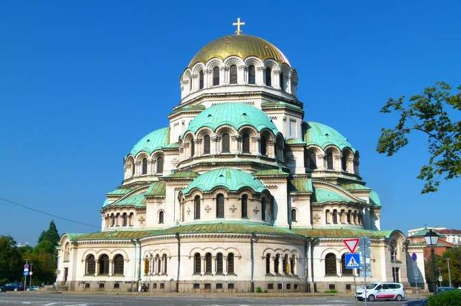 Alexander Nevsky Cathedral in Sofia Bulgaria