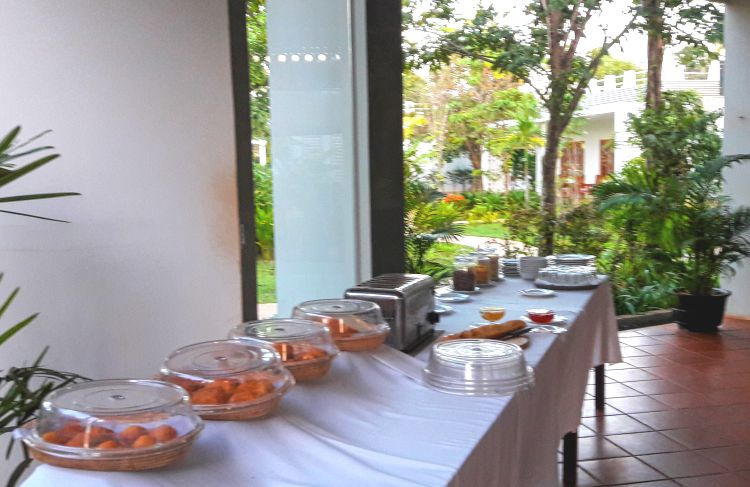 Continental Breakfast - Tresor D'Angkor Suite