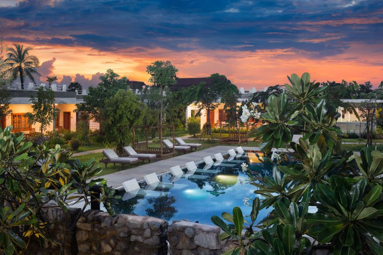 Tresor d'Angkor Villa & Resort Pool and Garden View