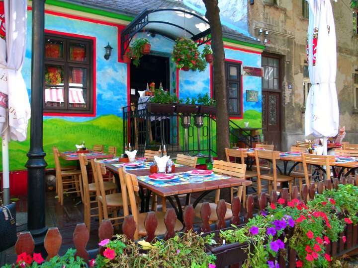 cafes in Belgrade Serbia