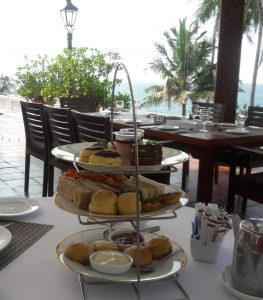 High Tea at the Mt Lavinia hotel