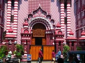 Mosque Pettah Market Colombo
