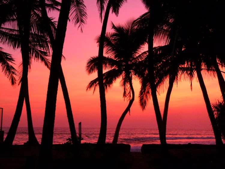 Sunset Hikkaduwa