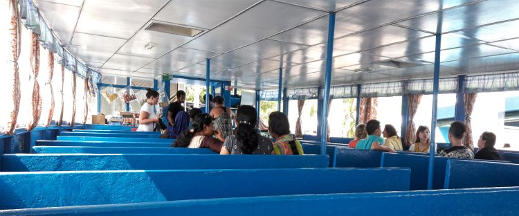 Public Ferry from Male to Maafushi