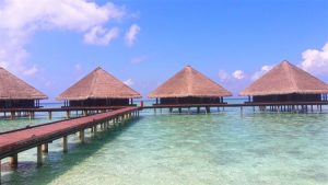 Overwater bungalows- Maldives